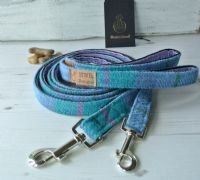 Blue and turquoise Dog Collar
